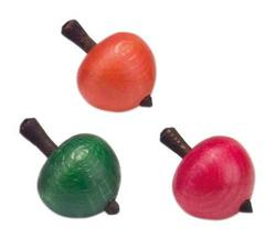 Buy Wooden Spinning Top - Small  Appletop (price per item) 4cm in AU Australia.