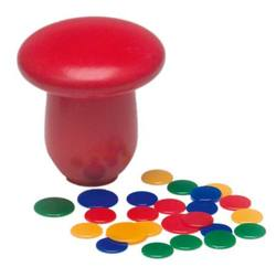 Buy Fleajumping / Tiddly Winks Game (with chips) Mushroom/Toadstool shape in AU Australia.