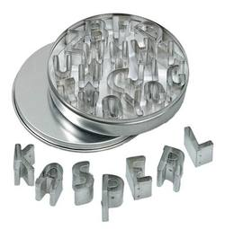 Buy Mini Cookie Cutter Set - ABC 26 letters in metal box DO SAVE 35% in AU Australia.