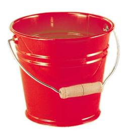 Buy Metal Bucket w Wooden Handle - choice of four colours in AU Australia.