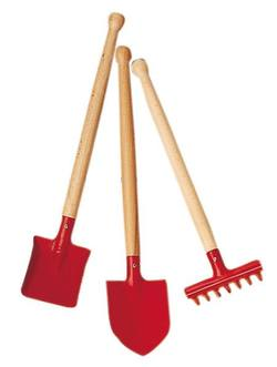Buy Garden medium tool-set (3 pieces) red 39cm in AU Australia.