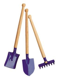 Buy Garden medium tool-set (3 pieces) blue 39cm in AU Australia.