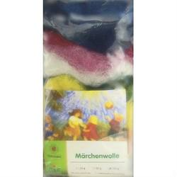 Buy Plant Dyed Wool Fleece (Marchenwolle) 100g Pack of 15 Assorted Colours in AU Australia.