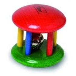 Buy Walter Cage Rattle with Bell Primary Colour in AU Australia.