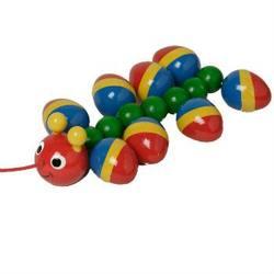 Buy Walter Little Caterpillar Pull Along 19cm long in AU Australia.