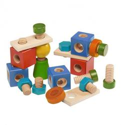 Buy Walter Mix of Wooden Nuts and Screws 24 pcs in AU Australia.