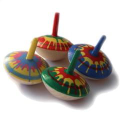 Buy Grunspecht  Wooden Spinning Top - Hand-painted 35mm D in AU Australia.