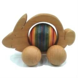 Buy Rabbit & coloured ball 12cm (ball 4.5cm) in AU Australia.