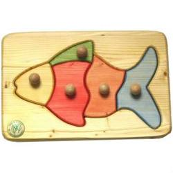Buy Drei Blatter Wooden Fish Puzzle in AU Australia.
