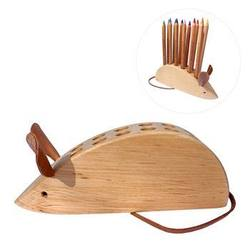 Buy Drei Blatter Wooden Pencil Holder Mouse NEW in AU Australia.