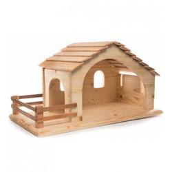 Buy Drei Blatter Wooden Nativity Stable Large DUE APRIL in AU Australia.