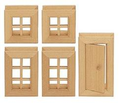 Buy Varis Toys Construction - Windows and Doors I - 5 pcs D in AU Australia.