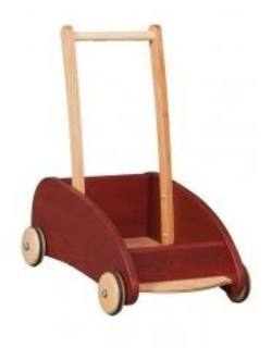 Buy Verneuer Wooden Block Trolley / Toddler Walker Cart Swedish Red SPECIAL ORDER in AU Australia.