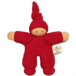 Buy Nanchen Organic Soft Doll with Knotted Hat Magenta 17cm in AU Australia.