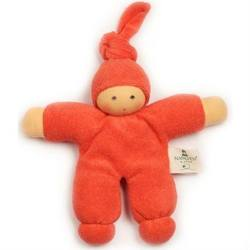Buy Nanchen Organic Soft Doll with Knotted Hat Orange 17cm in AU Australia.