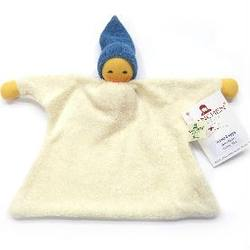 Buy Nanchen Organic Sack Doll Blue Hat 21 cm in AU Australia.