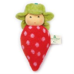 Buy Nanchen Organic Strawberry Rattle 15cm in AU Australia.