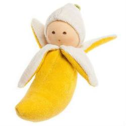 Buy Nanchen Organic Banana Rattle 16cm in AU Australia.