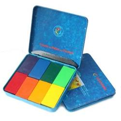 Buy Stockmar Wax Crayons w Pure Beeswax 8 Blocks in Tin Sydney Mix in AU Australia.