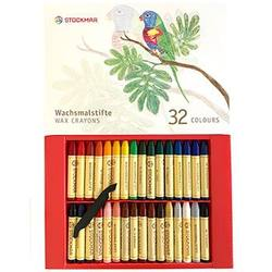 Buy Stockmar Wax Crayons 32 Sticks in Cardboard Gift Display Box in AU Australia.