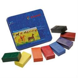 Buy Stockmar Wax Crayons 8 Blocks in Tin w Black in AU Australia.