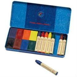 Buy Stockmar Wax Crayons 8 Blocks + 8 Sticks in Tin in AU Australia.