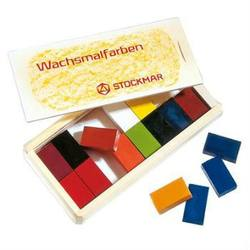 Buy Stockmar Wax Crayons 16 Blocks in Wooden Box in AU Australia.