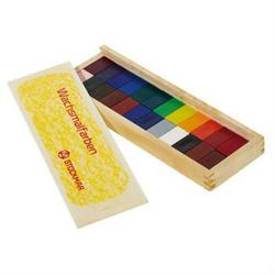 Buy Stockmar Wax Crayons 24 Blocks in Wooden Box in AU Australia.