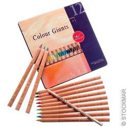Buy AMS Colour Giants - Waldorf assorted colours12 in tin case in AU Australia.