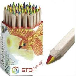 Buy Stockmar Coloured Pencils - Retail Hexagonal Single Colours - Box of 19 in AU Australia.
