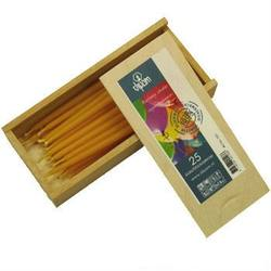 Buy Dipam Beeswax Birthday Cake Candles Wooden Box of 25 in AU Australia.