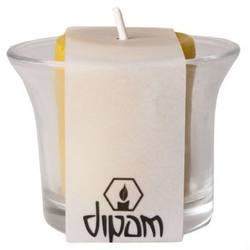 Buy Dipam Beeswax Tall Tealight in Glass Holder SF. Burn time 8hrs in AU Australia.