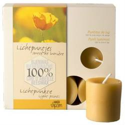 Buy Dipam Beeswax Tall Tealights SF9 Burn time 8hrs box of 9 in AU Australia.