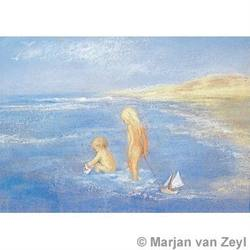 Buy Postcards- Playing in the Sea 5 pack in AU Australia.