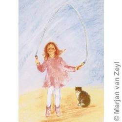 Buy Postcards-  Skipping Rope 5 pack in AU Australia.