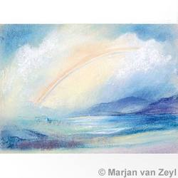 Buy Postcards- Landscape with Rainbow SPECIAL ORDER 5 pk in AU Australia.