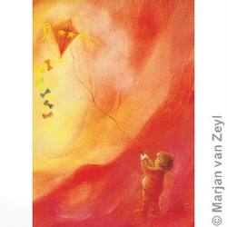 Buy Postcards- Fly a Kite 5 pack in AU Australia.