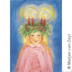 Buy Postcards- Lucia's Advent Wreath 5 pack in AU Australia.