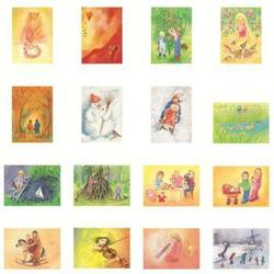 Buy Postcards 'Children Set 1'  assorted pk of 16 by Marjan van Zeyl in AU Australia.