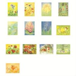 Buy Postcards 'Nature and Mythical Creatures'-  assorted pack of 13 postcards by Marjan van Zeyl in AU Australia.