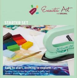 Buy Encaustic Hot Wax Art Kit - Starter Pack with Iron in AU Australia.