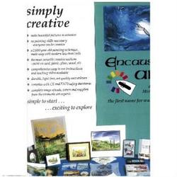 Buy Encaustic Art Flyer A3 Full Colour English SPECIAL ORDER in AU Australia.
