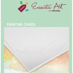 Buy Encaustic Hot Wax Art Painting Card White in AU Australia.