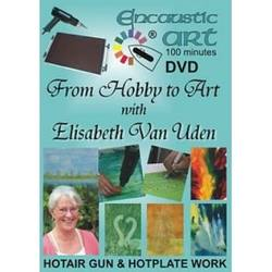 Buy Encaustic Hot Wax Art  DVD 'From Hobby to Art' D in AU Australia.