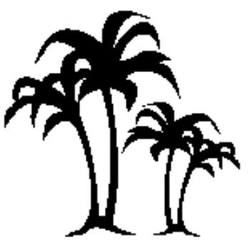 Buy Craft Stamp - Palm trees 10PA in AU Australia.