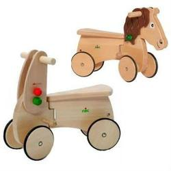 Buy Wooden Ride On CombiCar with BONUS Horse Attachment + Telescopic Walking Stick in AU Australia.