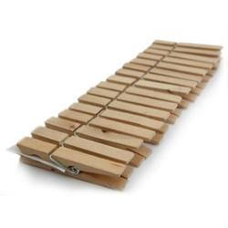 Buy Wooden Pegs - 16 Pegs 70mmx9mm in AU Australia.